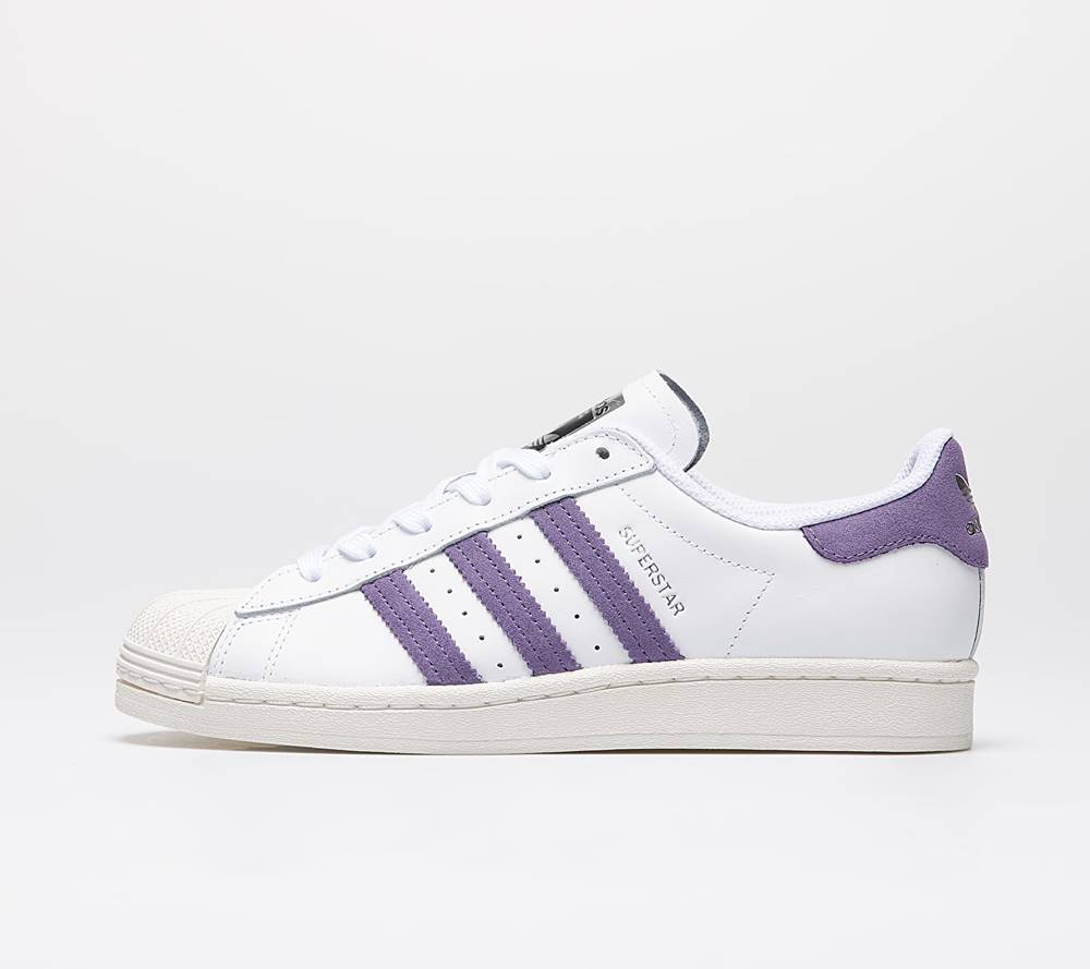 adidas Originals adidas Superstar W Ftw White/ Tech Purple/ Off White