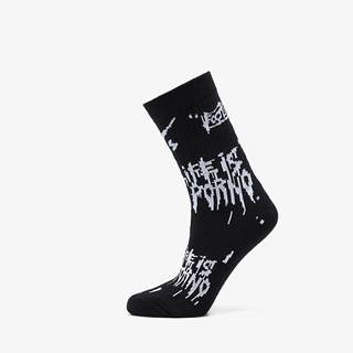 LIFE IS PORNO xxx Footshop Sox Black